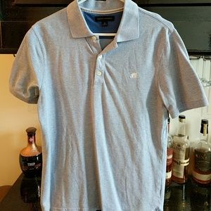 Banana republic Blue Heather Polo
